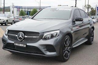 2019 Mercedes-Benz GLC-Class C253 809MY GLC43 AMG Coupe 9G-Tronic 4MATIC Grey 9 Speed