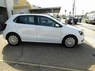 2015 Volkswagen Polo 6R MY16 66TSI DSG Trendline White 7 Speed Sports Automatic Dual Clutch