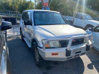 2000 Mitsubishi Pajero GLX NM Silver 5 Speed Auto Active Select Wagon