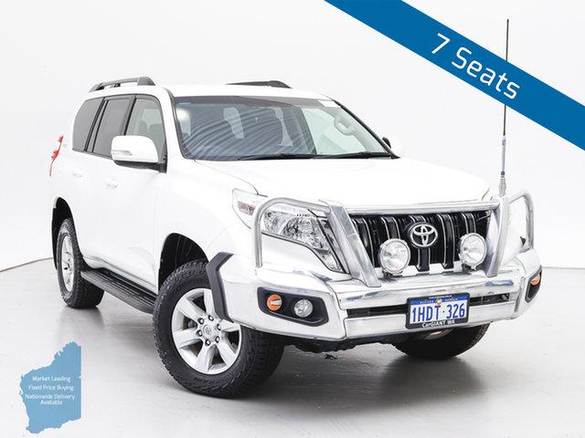 Used Toyota Landcruiser Prado KDJ150R MY14 GXL (4x4), 2015 Toyota Landcruiser Prado KDJ150R MY14 GXL (4x4) White 5 Speed Sequential Auto Wagon