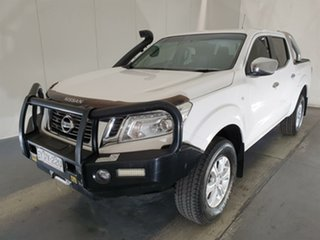 2015 Nissan Navara D23 ST White 7 Speed Sports Automatic Utility.