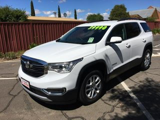 2019 Holden Acadia AC MY19 LT AWD White 9 Speed Sports Automatic Wagon.