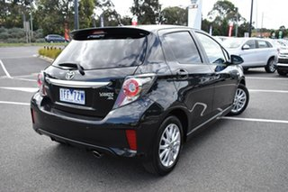 2015 Toyota Yaris NCP131R ZR Black 4 Speed Automatic Hatchback