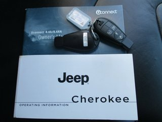 2014 Jeep Cherokee KL MY15 Limited (4x4) Silver 9 Speed Automatic Wagon