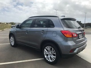 2018 Mitsubishi ASX XC MY19 ES 2WD Grey 1 Speed Constant Variable Wagon