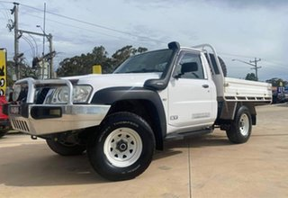 2011 Nissan Patrol ST White Manual Cab Chassis - Single Cab.