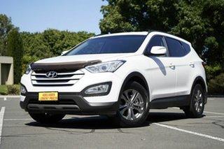 2013 Hyundai Santa Fe DM MY14 Active White 6 Speed Sports Automatic Wagon.
