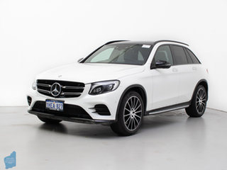 2016 Mercedes-Benz GLC250D 253 White 9 Speed Automatic Wagon.
