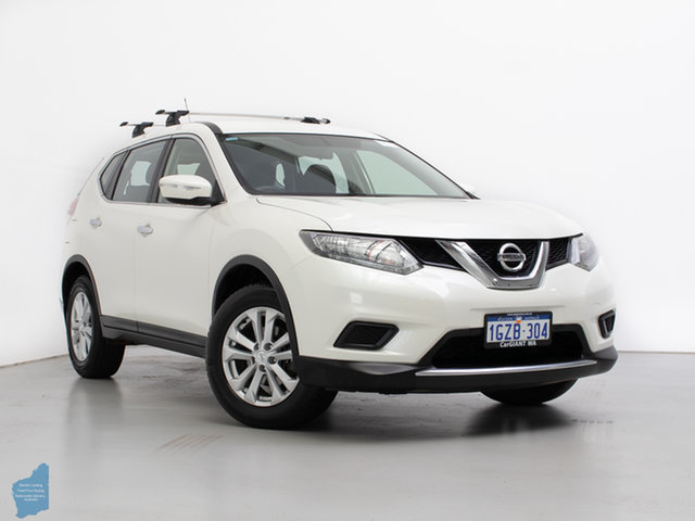 Used Nissan X-Trail T32 ST (4x4), 2016 Nissan X-Trail T32 ST (4x4) White Continuous Variable Wagon