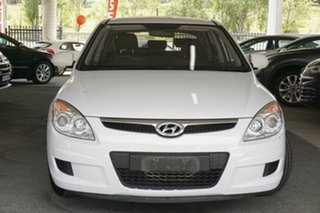 2008 Hyundai i30 FD SX White 4 Speed Automatic Hatchback.