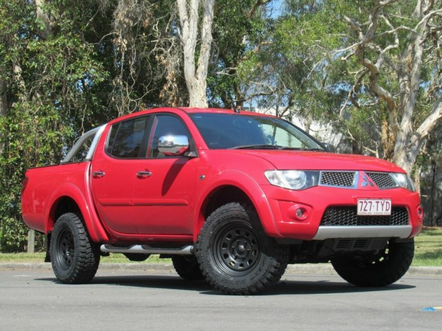 Used Mitsubishi Triton MN MY15 GLX-R Double Cab, 2014 Mitsubishi Triton MN MY15 GLX-R Double Cab Red 5 Speed Manual Utility