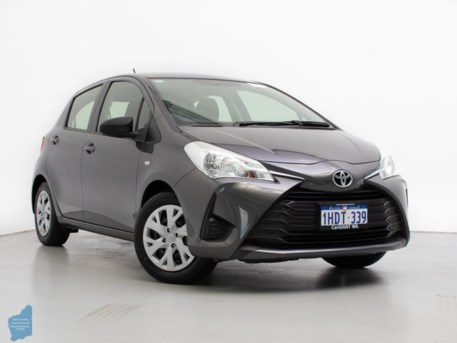 Used Toyota Yaris NCP130R MY17 Ascent, 2017 Toyota Yaris NCP130R MY17 Ascent Grey 4 Speed Automatic Hatchback