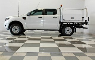 2016 Ford Ranger PX MkII XL 2.2 Hi-Rider (4x2) White 6 Speed Automatic Crew Cab Chassis