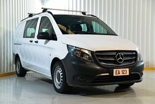2017 Mercedes-Benz Vito 447 119BlueTEC Crew Cab MWB 7G-Tronic + White 7 Speed Sports Automatic Van