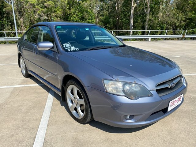 Used Subaru Liberty MY06 2.0R Morayfield, 2006 Subaru Liberty MY06 2.0R Blue 4 Speed Auto Elec Sportshift Sedan