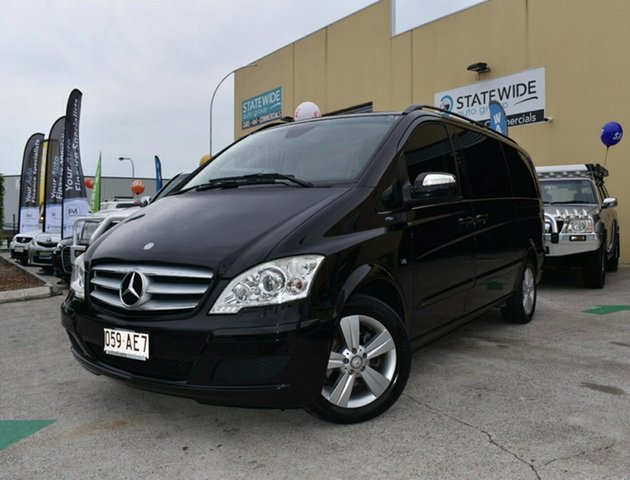 Used Mercedes-Benz Viano 639 Avantgarde Grand Edition Capalaba, 2013 Mercedes-Benz Viano 639 Avantgarde Grand Edition Black 5 Speed Auto Touchshift Wagon