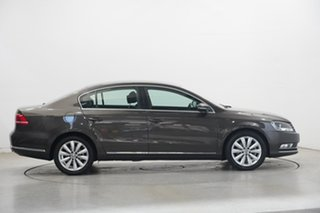 2013 Volkswagen Passat Type 3C MY13.5 118TSI DSG Black Oak Brown Me 7 Speed