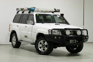 2016 Nissan Patrol GU Series 10 ST (4x4) Legend Edition White 5 Speed Manual Wagon.