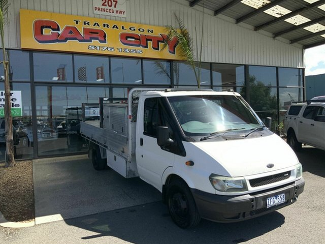 Used Ford Transit VJ Traralgon, 2005 Ford Transit VJ White 6 Speed Manual Single Cab Cab Chassis