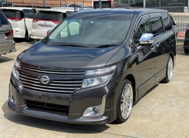 Used Nissan Elgrand PE52 Highway Star Premium Silverwater, 2010 Nissan Elgrand PE52 Highway Star Premium Grey Constant Variable Wagon