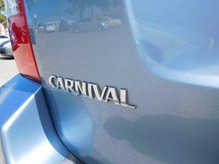 2007 Kia Carnival VQ MY07 EX Blue 4 Speed Sports Automatic Wagon