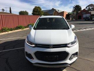 2017 Holden Trax TJ MY18 LTZ White 6 Speed Automatic Wagon.
