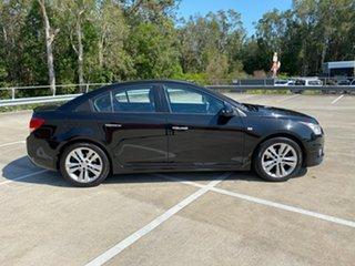 2014 Holden Cruze JH MY14 SRi V Black 6 Speed Automatic Sedan.