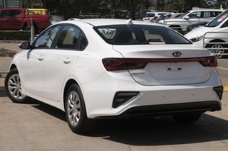 2019 Kia Cerato BD MY19 S White 6 Speed Sports Automatic Sedan.