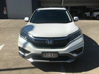2015 Honda CR-V RM Series II MY17 VTi 4WD White 5 Speed Sports Automatic Wagon.