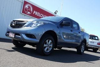 2017 Mazda BT-50 UR0YG1 XT Blue 6 Speed Sports Automatic Utility.