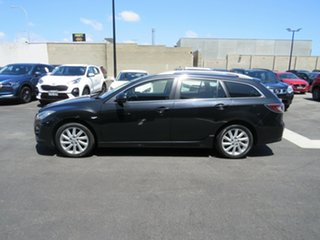 2011 Mazda 6 GH1052 MY12 Touring Black 5 Speed Sports Automatic Wagon