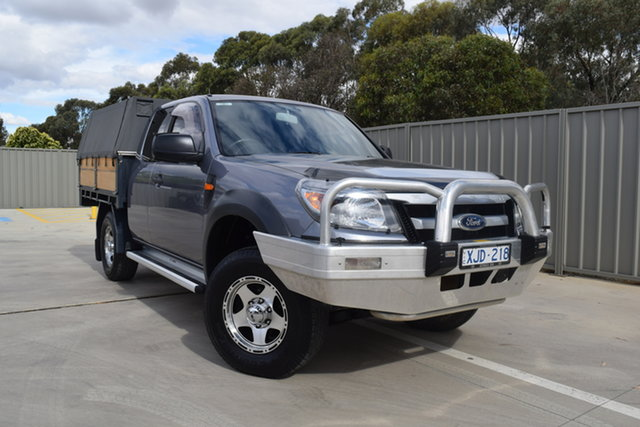 Used Ford Ranger PK XL Echuca, 2009 Ford Ranger PK XL Grey 5 Speed Manual Pick Up