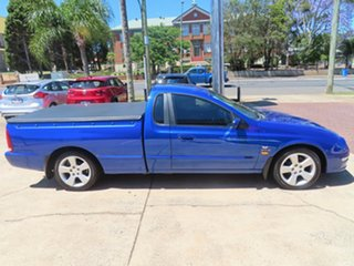 2001 Ford Falcon XR6 Blue Automatic Utility.