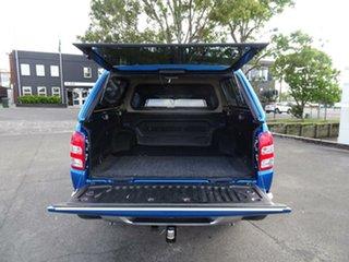 2017 Mitsubishi Triton MQ MY17 GLS Double Cab Impulse Blue 6 Speed Manual Utility