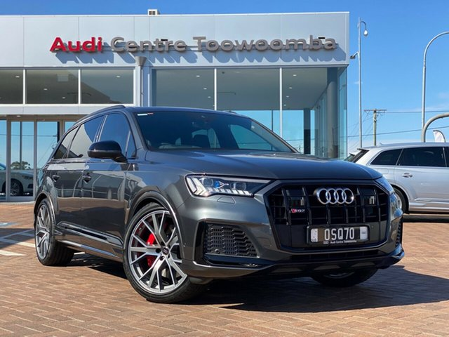 Used Audi SQ7 4M MY20 TDI Tiptronic Toowoomba, 2020 Audi SQ7 4M MY20 TDI Tiptronic 8 Speed Sports Automatic Wagon