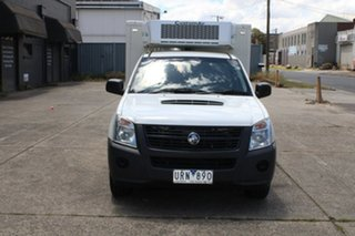 2007 Holden Rodeo RA MY07 LX 4x2 White 5 Speed Manual Cab Chassis.