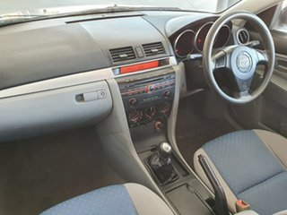 2006 Mazda 3 BK10F1 Neo White 5 Speed Manual Sedan