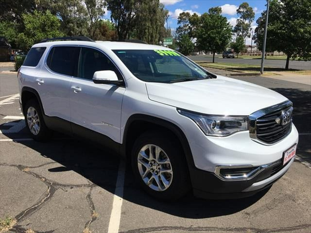 Used Holden Acadia AC MY19 LT AWD Yarrawonga, 2019 Holden Acadia AC MY19 LT AWD White 9 Speed Sports Automatic Wagon
