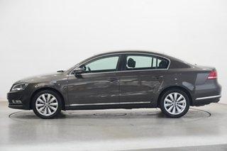 2013 Volkswagen Passat Type 3C MY13.5 118TSI DSG Black Oak Brown Me 7 Speed.