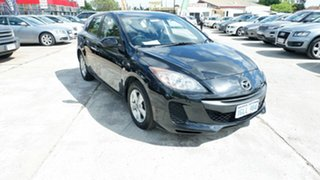 2013 Mazda 3 BL10F2 MY13 Neo Activematic Black 5 Speed Sports Automatic Hatchback.