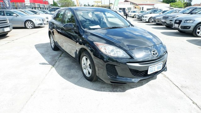 Used Mazda 3 BL10F2 MY13 Neo Activematic St James, 2013 Mazda 3 BL10F2 MY13 Neo Activematic Black 5 Speed Sports Automatic Hatchback