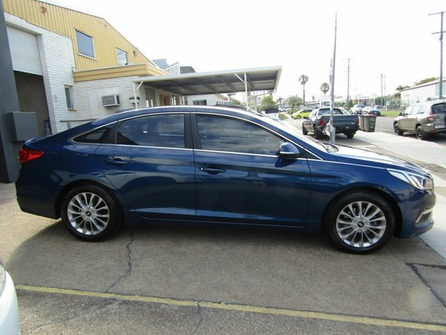 Used Hyundai Sonata LF Active Moorooka, 2015 Hyundai Sonata LF Active Blue 6 Speed Sports Automatic Sedan