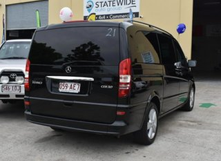 2013 Mercedes-Benz Viano 639 Avantgarde Grand Edition Black 5 Speed Auto Touchshift Wagon.