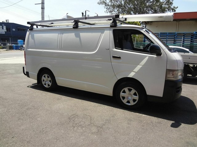 Used Toyota HiAce KDH200R LWB Coopers Plains, 2006 Toyota HiAce KDH200R LWB White 5 Speed Manual Van
