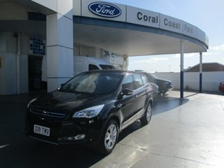 2013 Ford Kuga TF Ambiente (AWD) Black 6 Speed Automatic Wagon.