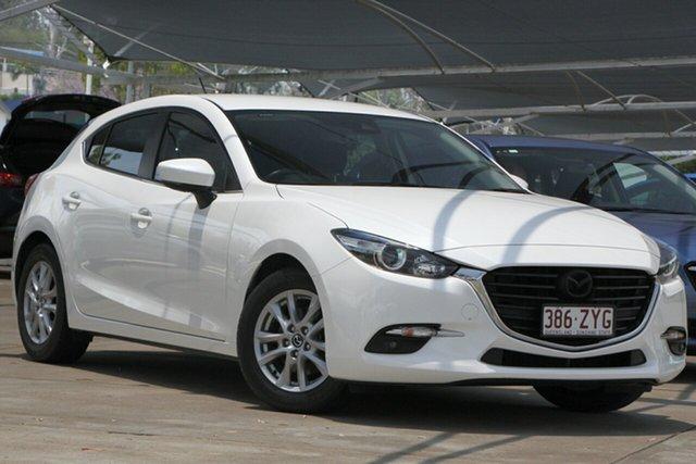Used Mazda 3 BN5478 Maxx SKYACTIV-Drive Bundamba, 2017 Mazda 3 BN5478 Maxx SKYACTIV-Drive White 6 Speed Sports Automatic Hatchback