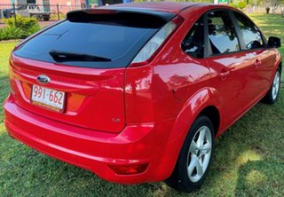 2010 Ford Focus LV LX Red 4 Speed Sports Automatic Hatchback.