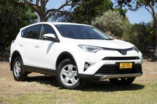 2018 Toyota RAV4 ZSA42R GX 2WD White 7 Speed Constant Variable Wagon.