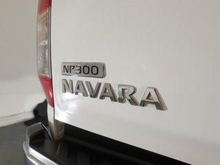 2015 Nissan Navara D23 ST White 7 Speed Sports Automatic Utility