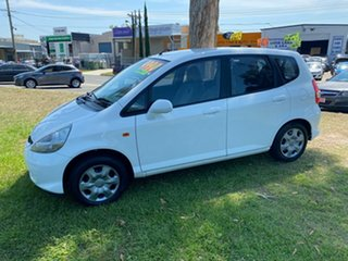 2005 Honda Jazz GD MY05 GLi White 1 Speed Constant Variable Hatchback